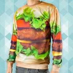 Le t-shirt... burger !