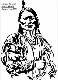 Native American Tattoos, Native American Design, Western Clip Art, Native Drawings, Indian Tattoo Design, Wooden Spoon Crafts, Harley Davidson Art, Scroll Saw Patterns Free, Spray Paint Art