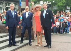 Queen Maxima and King Willem Alexander visit Friesland