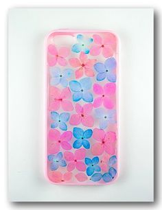 Handmade iPhone 5/5s case Resin with Real Flowers by Annysworkshop, $20.00