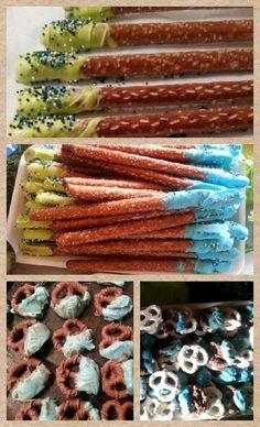 Chocolate cover pretzel