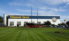 Want some of the best ice cream around?  Get it in Oregon at the Tillamook Cheese Factory!  Yum!