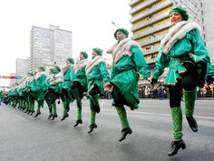The world goes green for St. From Dublin to Tokyo, see celebrations around the world. Irish Celebration, Celebration Around The World, Festival Celebration, Stuff To Do, Things To Do, Happy March, Orchid Show, Fun Events, Folk Music