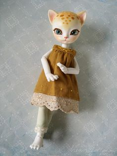 custom junkyspot.com Hujoo Freya doll - I'd love to try my hand at one of these