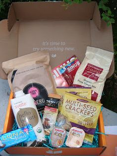 The ABCD Diaries: Send Me Gluten Free: Yay for a Subscription Box of GF Goodies! + Giveaway