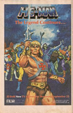 He-Man The legend continues...