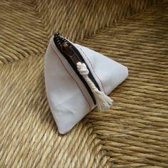 Porte monnaie berlingot en voile de bateau Sailing Outfit, Textiles, Kite, Upcycle, Creations, Couture, Etsy, Vintage, Handmade
