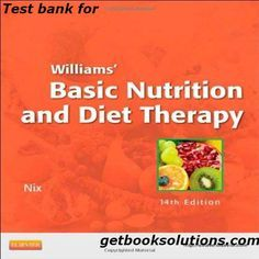 Modern blood banking and transfusion practices 6th edition ebook test bank for williams basic nutrition and diet therapy 14th edition by nix download williams fandeluxe Image collections