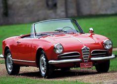 1955 Alfa Romeo Giulietta Spider