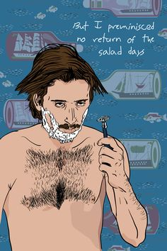 Salad Days by Mike Oncley - Raising Arizona Art - Nicolas Cage - Coen Brothers - H.I. McDunnough