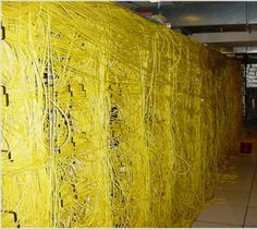 Tony, can you replace the cat5e cable of the database server? Its the yellow cable...