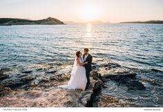 A destination wedding, filled with tradition and love, at their family's house in Greece. Greek Islands, Greece, Destination Wedding, Celebration, White Dress, Wedding Inspiration, Traditional, Wedding Dresses, House