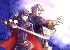 Fire Emblem Awakening - Robin and Lucina