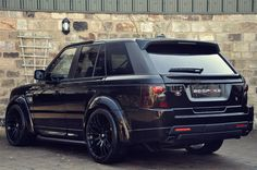 Murdered range rover sport, my dream car with cream interior!!
