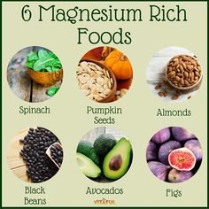 Food Facts: 6 Magnesium Rich Foods   Natural Remedies   Holistic  