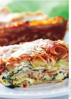 Gluten-Free Summer Squash Lasagna - this looks delicious!