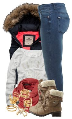 """""""11 21 15"""" by miizz-starburst ❤ liked on Polyvore featuring Hollister Co., Abercrombie & Fitch, Miss Selfridge, Mudd and Charlotte Russe"""