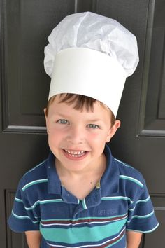 Attention little bakers and moms! Here's how to make a kid's chef hat | CL Moms