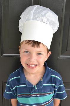 kid's chef hat craft