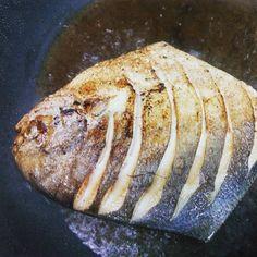 Pomfret Pan Grilled #pomfret #goanfood #seafood