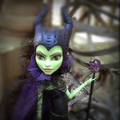 Maleficient Custom Monster High Doll - by Dollicious Customs  https://www.etsy.com/listing/124910197/maleficient-custom-monster-high-doll