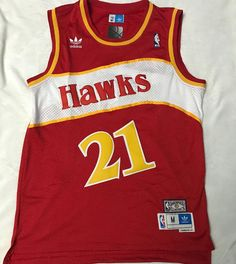 96e835d5757 Mitchell   Ness Hardwood Classic Atlanta Hawks Dominique Wilkins Away Jersey  DM SERIOUS INQUIRES Mitchell
