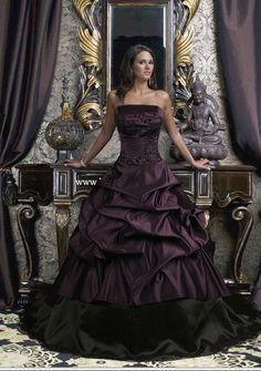robes de mariée gothiques ou noires