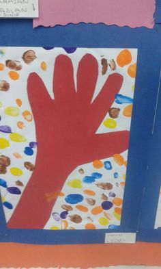 Tafadzwa (my son)' hand. Well done son!