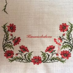 This post was discovered by Sevginin_kanavicebahcesi. Discover (and save!) your own Posts on Unirazi. Cross Stitch Rose, Cross Stitch Borders, Cross Stitch Flowers, Cross Stitch Designs, Cross Stitching, Cross Stitch Embroidery, Hand Embroidery, Cross Stitch Patterns, Embroidery Flowers Pattern