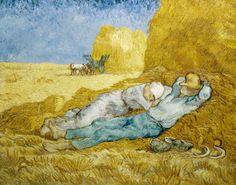Vincent Van Gogh - Van Gogh/Mittagsrast (nach Millet)/1890
