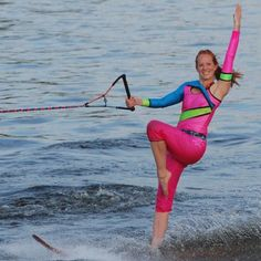Laura swivel skiing - missing being able to do that!