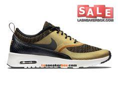 Nike - Air Max Thea - Paniers - Argentee Doré