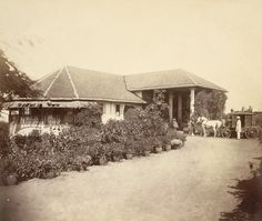 A small bungalow, Malabar Hill, Bombay.