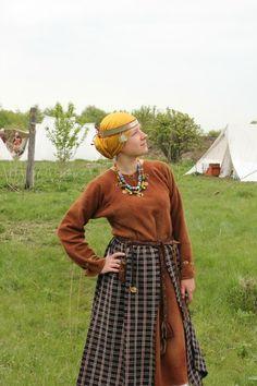 северяне, Severyani Slavic woman