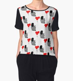 http://www.redbubble.com/people/pendientera/works/16336510-passion-of-art?p=chiffon-top