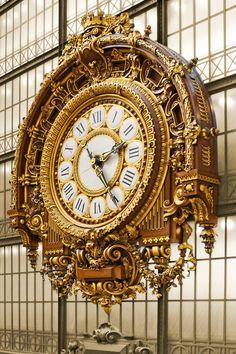 beautiful train station clock