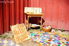 Kids corner! Photo by Emily Heizer, Photography with Flair. Available Worldwide: Heizer_ea@yahoo.com: Corvallis Wedding, Teller Wildlife Center (Ali & Brady's Montana Wedding)