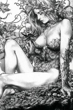 kidicarusiscrazy:  Poison Ivy by Jay Anacleto