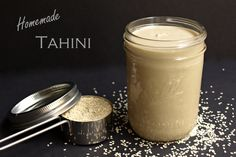 Recipe: Homemade Tahini