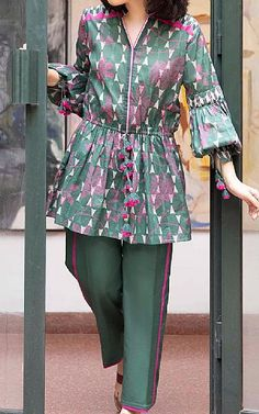 Lawn Suits, Famous Brands, Kurti, Sapphire, Teal, Blouse, Long Sleeve, Sleeves, Cotton