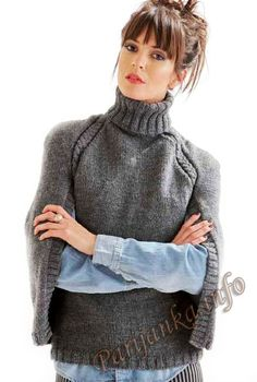 knitted pullover Пуловер (ж) 05*19 Cheval Blanc №4541