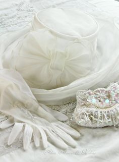 Aiken House & Gardens: An Elegant White Tea Time Shabby Chic, Ladies Luncheon, Wedding Gloves, Fru Fru, Thing 1, White Cottage, Shades Of White, Chantilly Lace, Up Girl