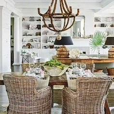 British West Indies Interior Design | Pinned by Carolyn Keyes