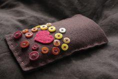 DIY phone cover, cute:)