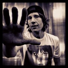 Rodney Mullen, Professional Skate boarder. I adore this man, I could listen to him talk for days.