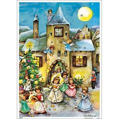 Angels Christmas Advent Calendar ~ Germany