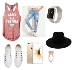 """""""Just do it"""" by zaicute on Polyvore featuring Converse and rag & bone"""