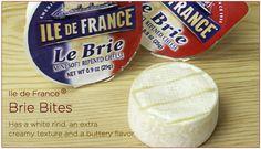 Ile de France single serve brie bites