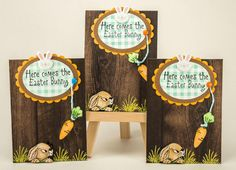 Art Impressions:  Ai Fronts and Backs:  F&B Peeking Rabbit (Sku#k1750)  ... handmade Easter card.  Bunny