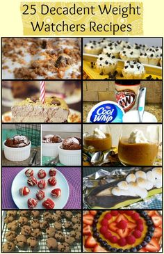 Trying to lose weight? Indulge your sweet tooth in these Weight Watchers desserts and sweet snacks